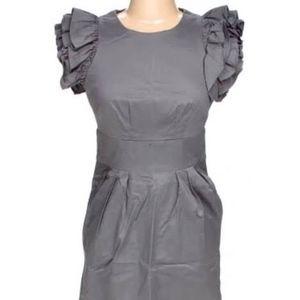Jessica Simpson grey mini, pockets, size 8